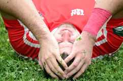 Joueur de rugby Photo stock
