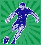 Avec bille de dessin joueur rugby une photos stock inscription gratuite - Dessin de joueur de rugby ...