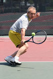 Joueur de tennis Photos stock