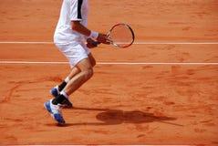 Joueur de tennis Photographie stock