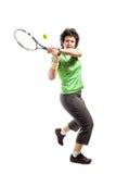 Joueur de tennis Images libres de droits