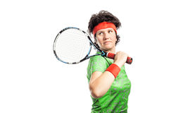 Joueur de tennis Image stock