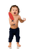 Joueur de tennis. Photographie stock libre de droits