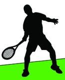 Joueur de tennis Illustration de Vecteur