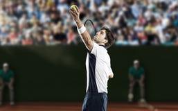 Joueur de tennis Image libre de droits