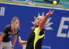 Joueur de tennis belge Xavier Malisse Photo libre de droits