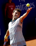 Joueur de tennis bulgare Grigor Dimitrov Photo libre de droits