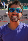 Joueur de tennis de Janko Tipsarevic Photo stock