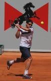Joueur de tennis de Janko Tipsarevic Images libres de droits