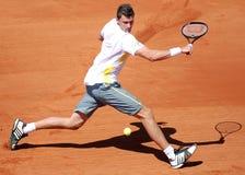 Joueur de tennis de triphosphate d'adénosine de Gilles Simon Photographie stock