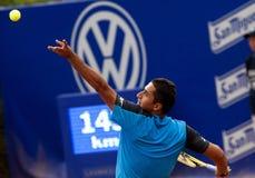 Joueur de tennis espagnol Nicolas Almagro Image stock