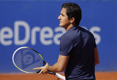 Joueur de tennis espagnol Nicolas Almagro Images stock