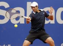 Joueur de tennis espagnol Pablo Andujar Photographie stock libre de droits