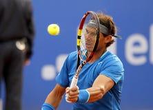 Joueur de tennis espagnol Rafa Nadal Photos stock