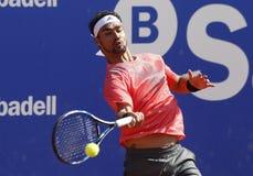 Joueur de tennis italien Fabio Fognini Images stock
