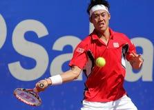 Joueur de tennis japonais Kei Nishikori Image libre de droits