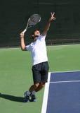 Joueur de tennis professionnel. Image libre de droits