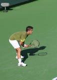 Joueur de tennis professionnel. Photographie stock libre de droits