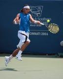Joueur de tennis Rafael Nadal Images libres de droits