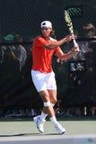 Joueur de tennis Rafael Nadal Photographie stock libre de droits