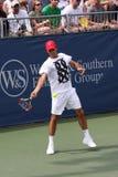 Joueur de tennis Roger Federer image stock