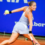 Joueur de tennis roumain Madalina Gojnea Photo libre de droits