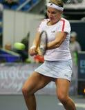 Joueur de tennis russe de Svetlana Kuznecova Image libre de droits