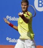 Joueur de tennis slovaque Martin Klizan Photographie stock libre de droits