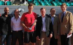 Joueur de tennis Tomas Berdych Photo libre de droits