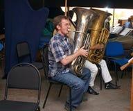 Joueur de Tuba photos stock