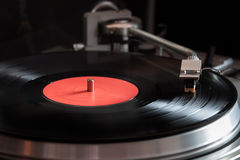 Joueur de vinyle Photo libre de droits