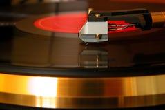 Joueur de vinyle Photo stock