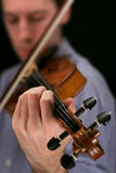 Joueur de violon photos stock