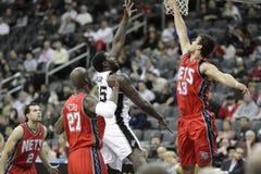 Joueur DeJuan Blair de NBA Photographie stock libre de droits