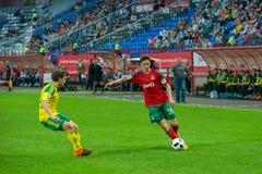 Joueur du milieu de terrain Aleksei Miranchuk (59) Photos stock