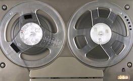 Joueur et enregistreur bobine à bobine Photographie stock