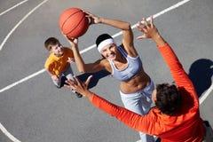 Joueur féminin Image libre de droits