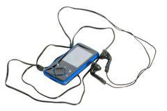 Joueur MP3 Images stock