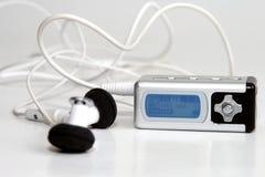 Joueur MP3 photographie stock