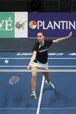 Joueur Soraya de Visch Eijbergen de badminton Photo libre de droits