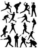 Joueurs de baseball Photos libres de droits