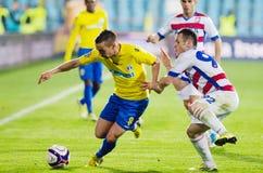Joueurs de football Image stock