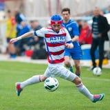 Joueurs de football Photographie stock libre de droits