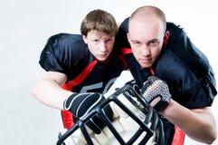 joueurs de football américain Photo libre de droits