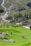 Joueurs de golf Photographie stock