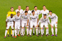 Joueurs de Real Madrid Photo libre de droits