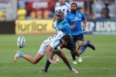Joueurs de rugby Images libres de droits