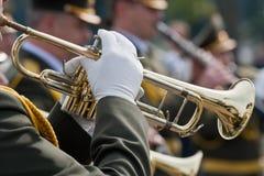 Joueurs de trompette photo libre de droits
