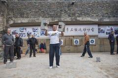 Joueurs en pierre de serrure Photographie stock libre de droits
