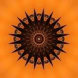 Jouez avec différentes lettres, conception numérique d'art Illustration Stock